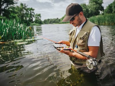 catch bass in deep water
