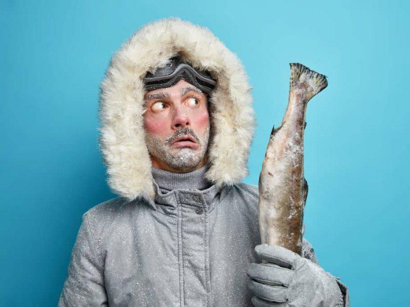 ice fishing gloves